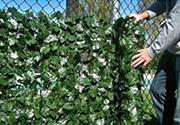 装饰围栏用的人造常春藤栅栏